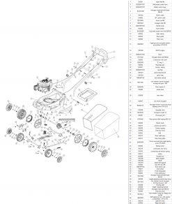 XSS40E Exploded & Parts